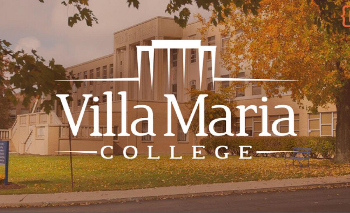 Villa Maria Logo and Campus
