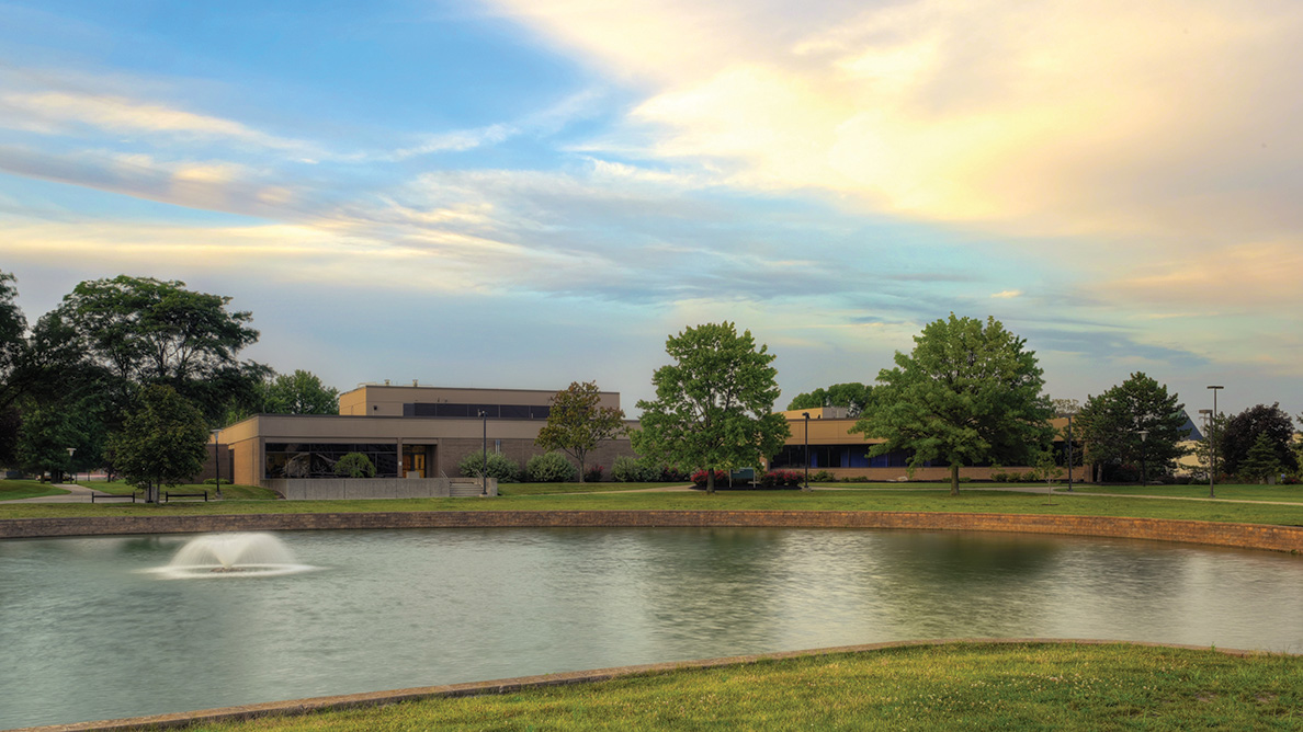 Exterior photo of Bryson Hall